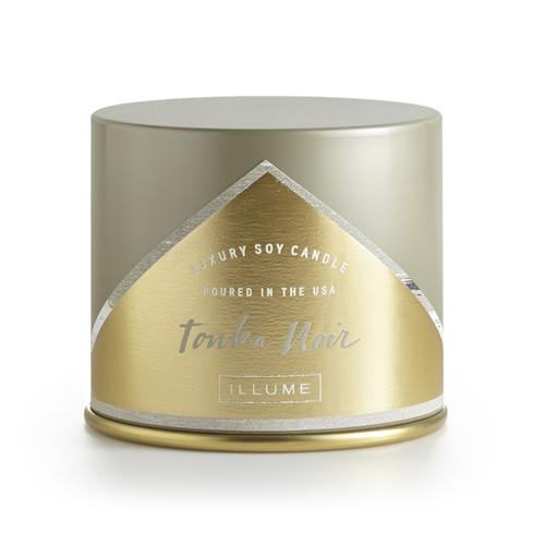 Illume Tonka Noir Vanity Tin Candle