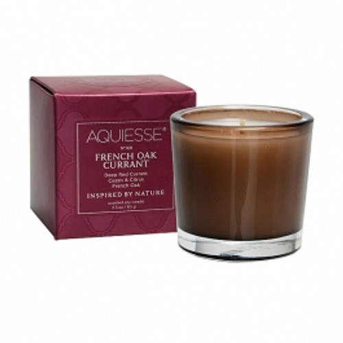 Aquiesse Portfolio Collection French Oak Currant Votive Candle