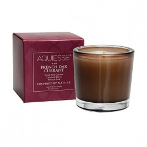 Aquiesse Portfolio Collection French Oak Currant Votive Candle
