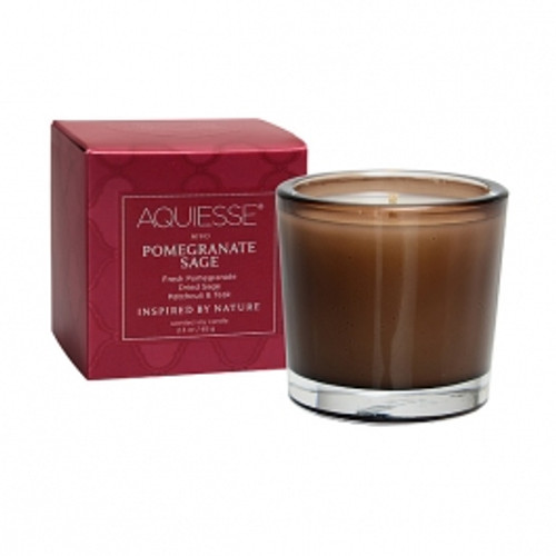 Aquiesse Portfolio Collection Pomegranate Sage Votive Candle