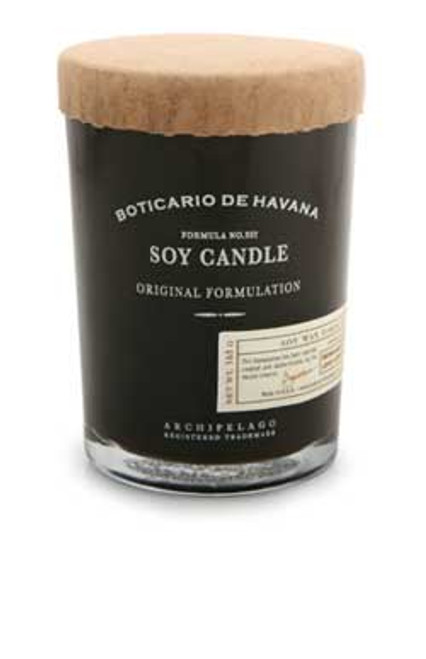 Archipelago Botanicals Boticario de Havana Collection Soy Candle