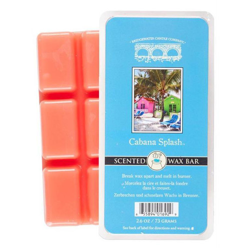 Bridgewater Candle Scented Wax Bar - Cabana Splash