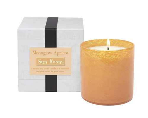 LAFCO Moonglow Apricot/Sun Room House & Home Glass Candle