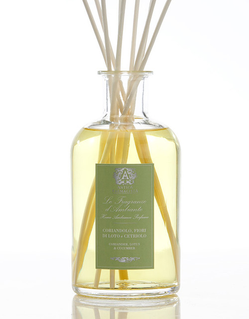 Antica Farmacista Coriander Lotus & Cucumber Home Ambience Reed Diffuser - 500 ml.