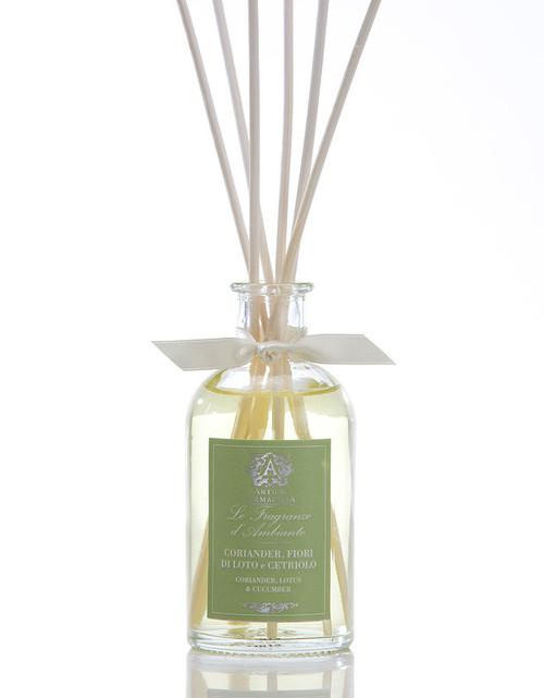 Antica Farmacista Coriander Lotus & Cucumber Home Ambience Reed Diffuser - 100 ml.