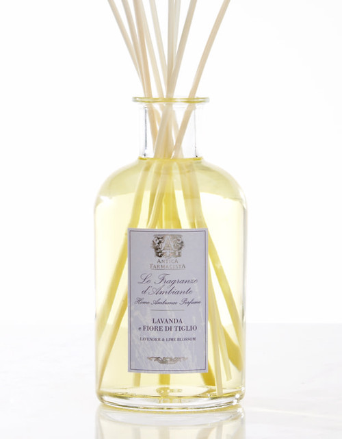 Antica Farmacista Lavender & Lime Blossom Home Ambience Reed Diffuser - 500 ml.