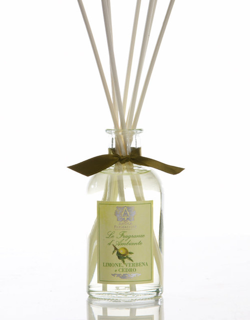 Antica Farmacista Lemon Verbena & Cedar Home Ambience Reed Diffuser - 100 ml.