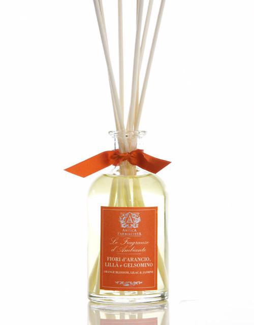 Antica Farmacista Orange Blossom Lilac & Jasmine Home Ambience Reed Diffuser - 100 ml.