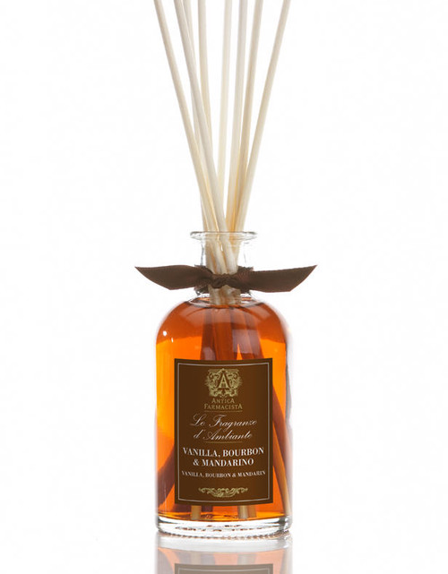 Antica Farmacista Vanilla Bourbon & Mandarin Amber Home Ambience Reed Diffuser - 100 ml.