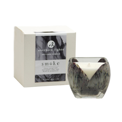 Northern Lights Candles Cascade Artisan Candle - Smoke
