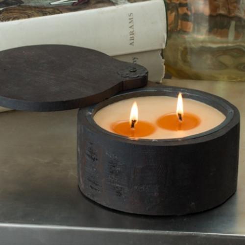 Himalayan Trading Post Bourban Vanilla 2-Wick Small Spice Pot Candle