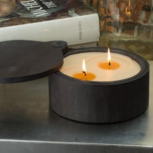 Himalayan Trading Post Bourban Vanilla 2-Wick Medium Spice Pot Candle