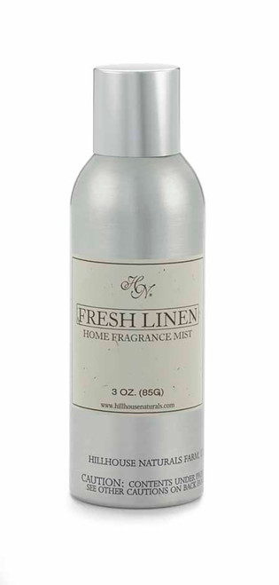 Hillhouse Naturals Fresh Linen Fragrance Mist