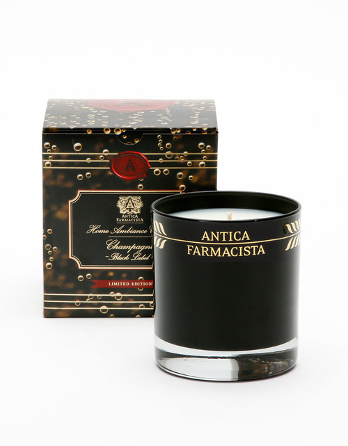 Antica Farmacista Champagne Black Label Glass Candle