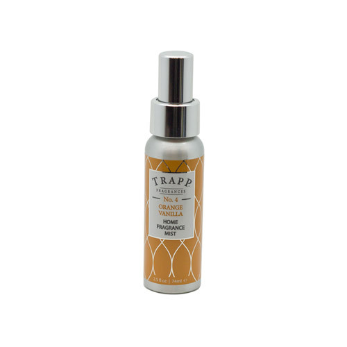 Trapp No. 4 Orange/Vanilla - 2.5 oz. Home Fragrance Mist