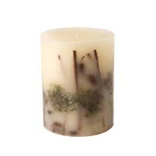 Rosy Rings Forest Botanical 4.5 x 5.5 Pillar Candle