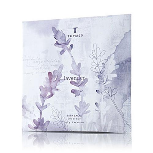 Thymes Lavender Collection Bath Salts Envelope