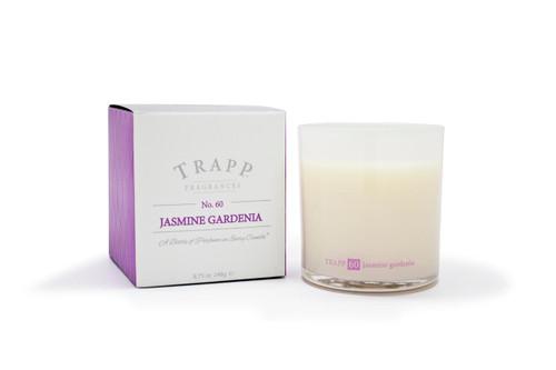 Trapp Candles No. 60 Jasmine Gardenia - 8.75 oz. Poured Candle
