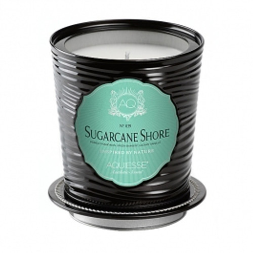 Aquiesse Portfolio Collection Sugarcane Shore Tin Candle With Matchbook