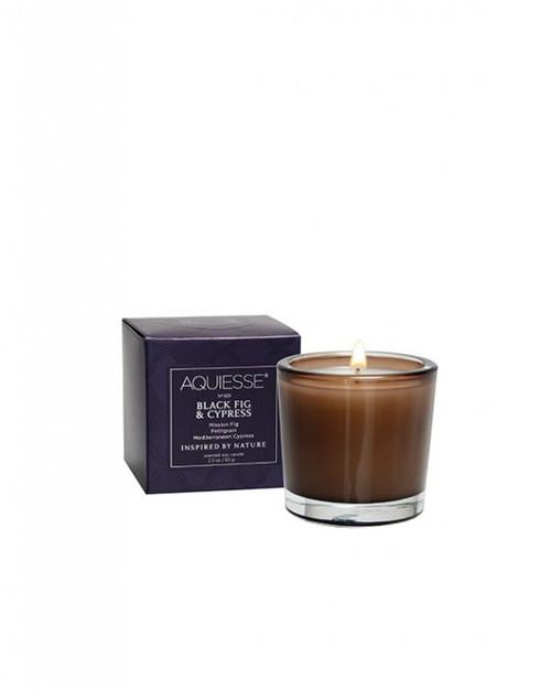 Aquiesse Portfolio Collection Black Fig & Cypress Votive Candle