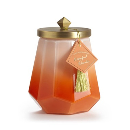Illume Grapefruit Oleander Laurel Glass Candle