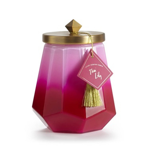 Illume Thai Lily Laurel Glass Candle
