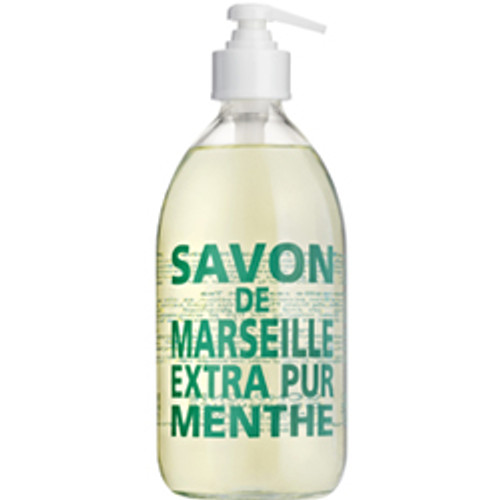 Compagnie de Provence Mint Tea Liquid Soap - Signature Glass Bottle
