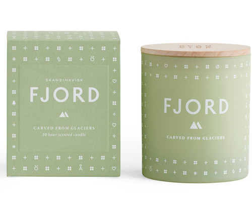 Skandinavisk Fjord Scented Candle