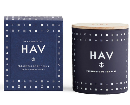 Skandinavisk Hav Scented Candle - Sea
