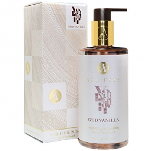 Aquiesse Mindful Collection Oud Vanilla Hand & Body Wash