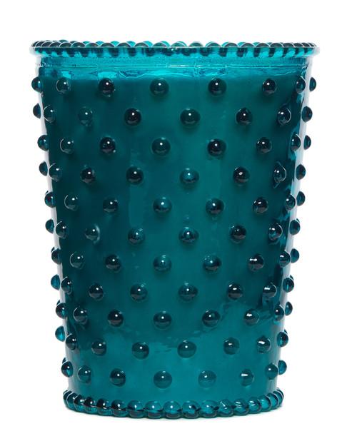 Simpatico No. 14 Spanish Lime Hobnail Glass Candle
