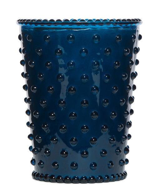 Simpatico No. 72 Ambergris Hobnail Glass Candle