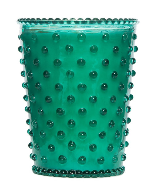 Simpatico No. 91 Marine Hobnail Glass Candle