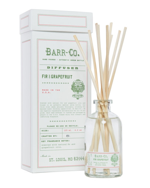 Barr-Co. Fir & Grapefruit Scent Diffuser Kit