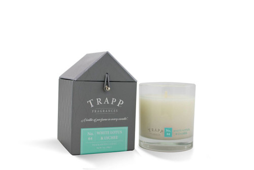 No. 64 Trapp Candle White Lotus & Lychee - 7oz. Poured Candle