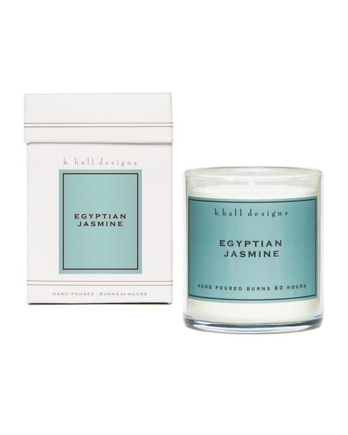 K. Hall Designs Egyptian Jasmine Jar Candle