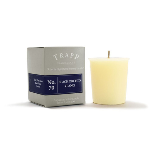 No. 70 Trapp Candle Black Orchid Ylang - 2oz. Votive Candle