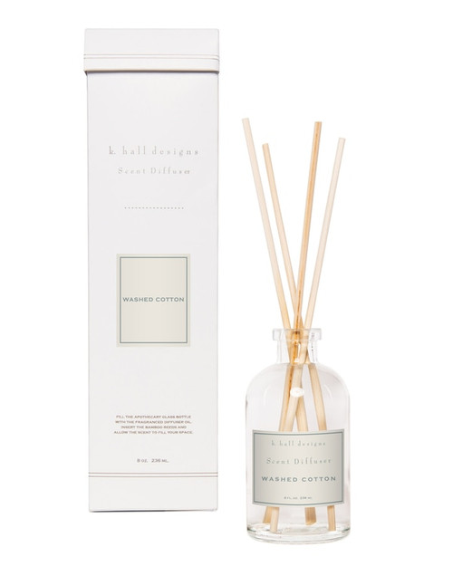 K. Hall Designs Washed Cotton Reed Diffuser