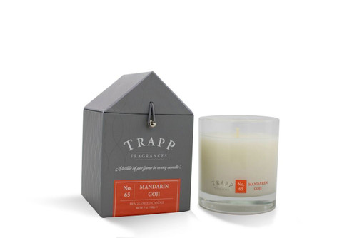 No. 65 Trapp Candle Mandarin Goji - 7oz. Poured Candle