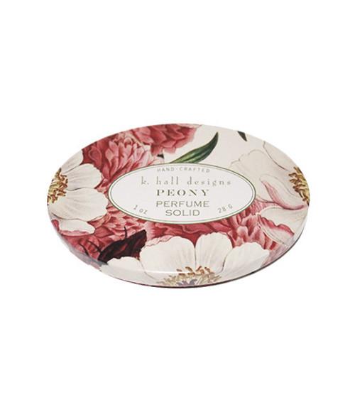 K. Hall Designs Peony Printed Solid Perfume