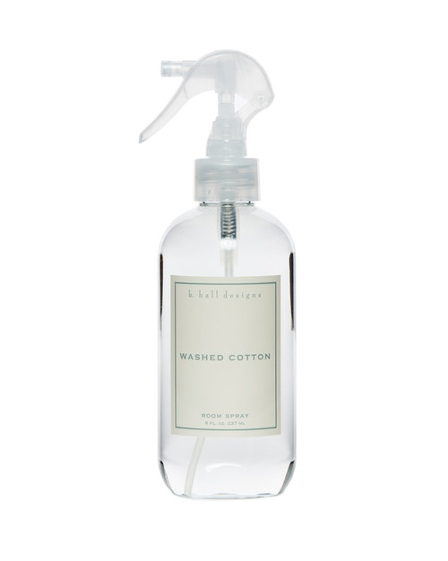 K. Hall Designs Washed Cotton Room Spray