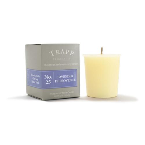 No. 25 Trapp Candle Lavender de Provence - 2oz. Votive Candle