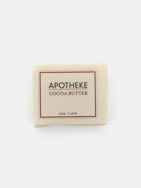 Apotheke Cocoa Butter Bar Soap