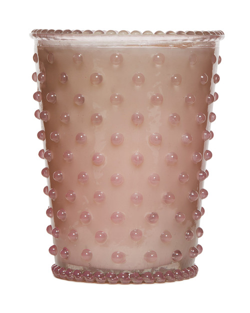Simpatico No. 36 Beach Plum Hobnail Glass Candle