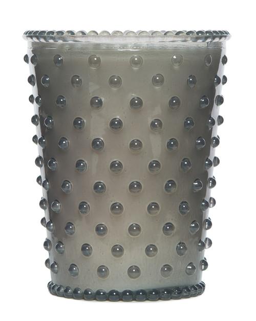 Simpatico No. 83 Violet Hobnail Glass Candle