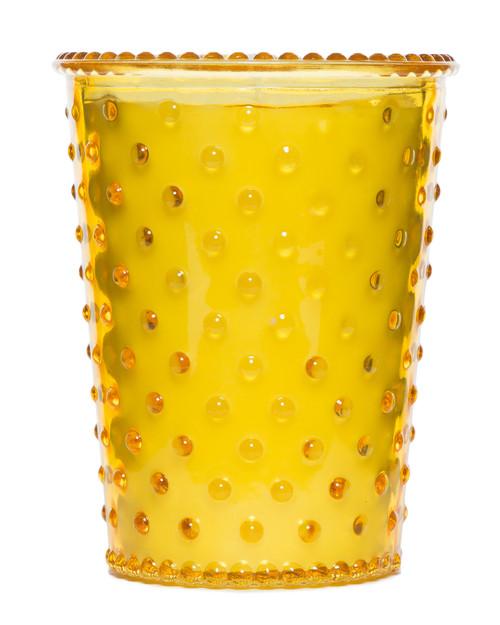Simpatico No. 97 Meyer Lemon Hobnail Glass Candle