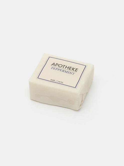 Apotheke Peppermint Bar Soap