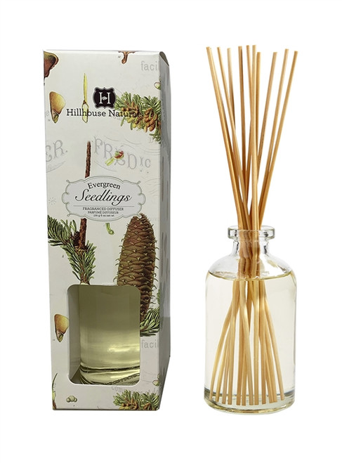 Hillhouse Naturals Evergreen Seedlings Diffuser