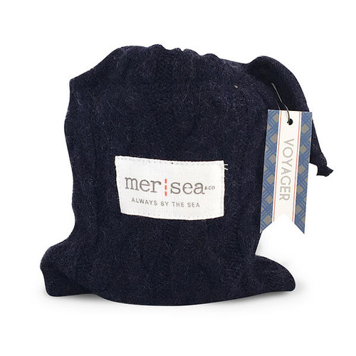 Mer Sea Voyager Sweater Sandbag Candle Holiday Collection