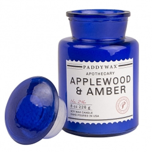 Paddywax Applewood & Amber Apothecary Candle